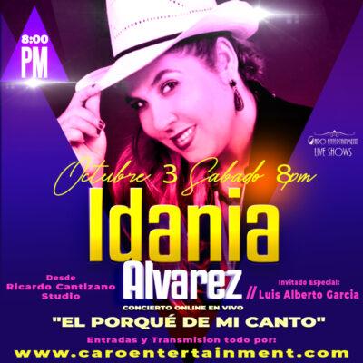 Idania Alvarez yo